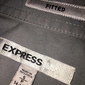 Men's Express Fitted Dress shirt